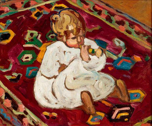 Louis Valtat (French, 1869-1952) Enfant a la trompette, 1910