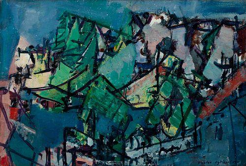 Vaclav Vytlacil (American, 1892-1984) Colorado, 1951
