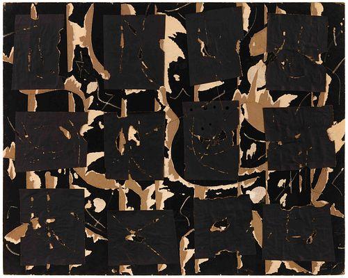 Robert Richenburg (American, 1917-2006) MOMA Collage, 1960