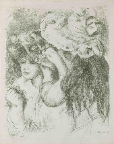 Pierre-Auguste Renoir (French, 1841-1919) Le chapeau epingle, 1897