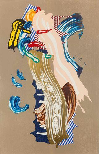 Roy Lichtenstein (American, 1923-1997) Blonde (from the Brushstroke Figure Series), 1989