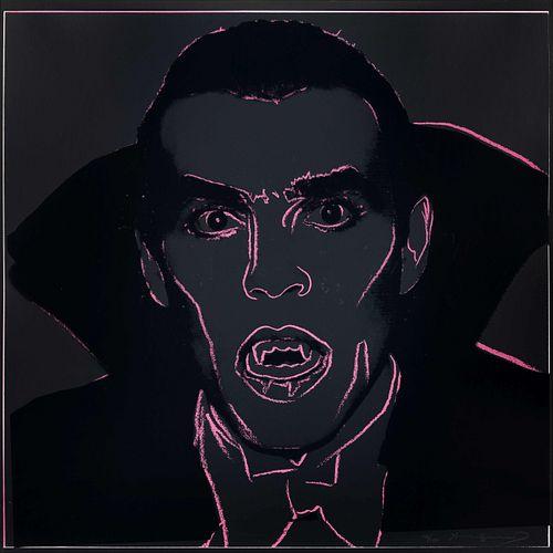 Andy Warhol (American, 1928-1987) Dracula(from the Myths portfolio), 1981