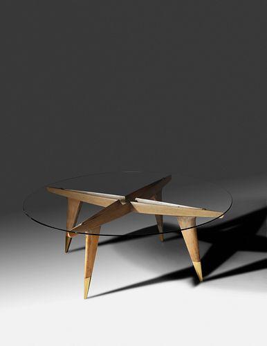 Gio Ponti (Italian, 1891-1979) Coffee Table, Singer & Sons, Italy c. 1950