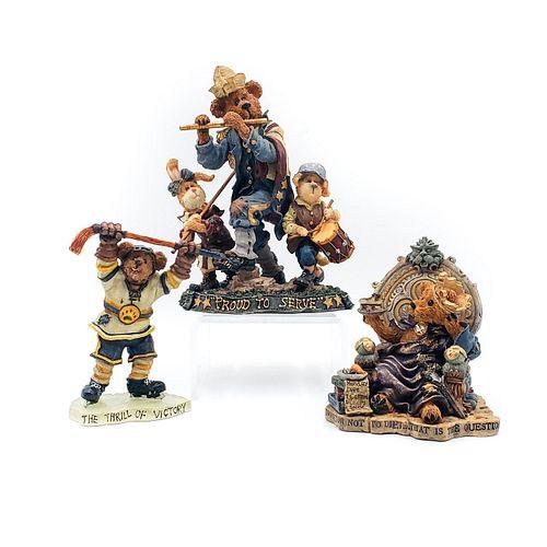 3 BOYDS BEARS AND FRIENDS FIGURINES, LTD ED