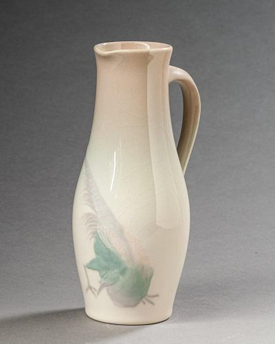 Rookwood Pottery Iris Glaze Ewer by Dee Wareham, 1898.