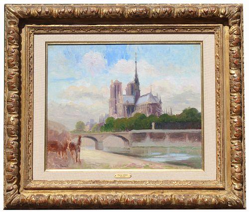 """Marthe Orant (France, 1874 - 1953) """"Notre Dame"""""""
