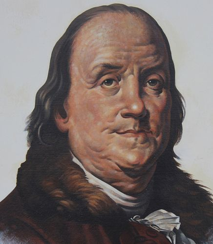 "Gene Boyer (20th C.) ""Ben Franklin"""