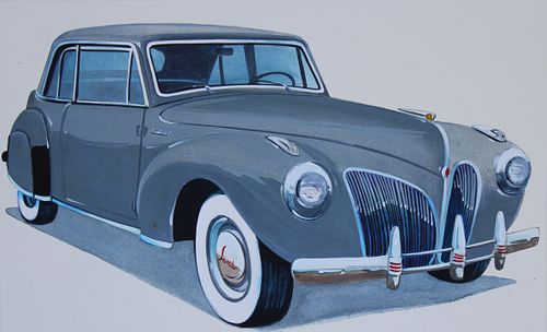"""Robert Seabeck <br>(B 1945) """"1941 Lincoln Continental"""""""