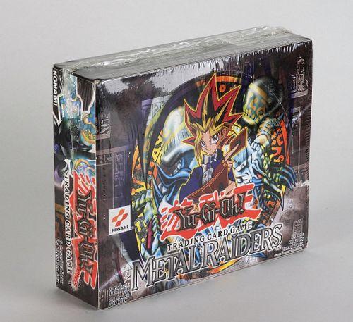 2002 YuGiOh Metal Raiders Unlimited Booster Box