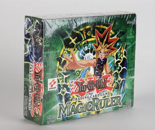 YuGiOh Magic Ruler Unlimited Sealed Booster Box