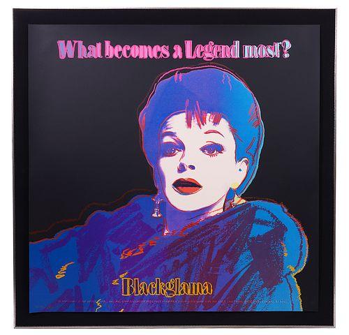 Andy Warhol 'Blackglama' Screenprint in Colors