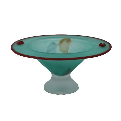 Monica Backstrom - Kosta Boda Glass Compote