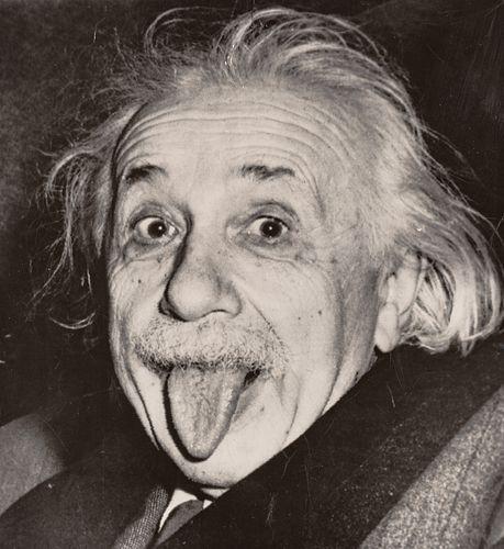 ARTHUR SASSE (1908–1975) Albert Einstein, The Princeton Club in New York, March 14, 1951