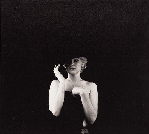 MILTON H. GREENE (1922–1985) Marilyn Monroe ('The Black Sitting'), June 1956