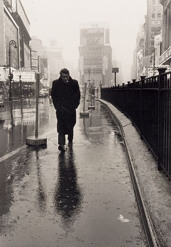 DENNIS STOCK (1928–2010) James Dean on Times Square, New York 1955