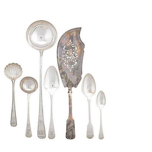 ENGLISH STERLING UTENSILS