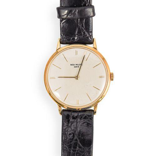 Patek Philippe Calatrava 18k Gold Watch
