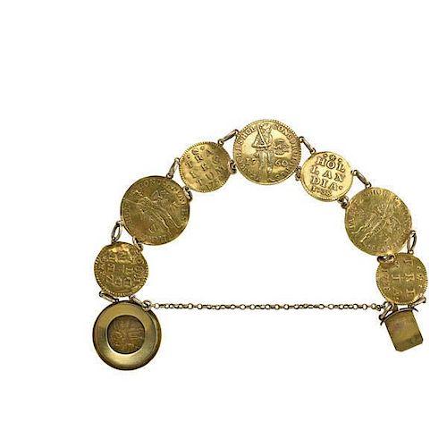 18TH C. GOLD DUCATS