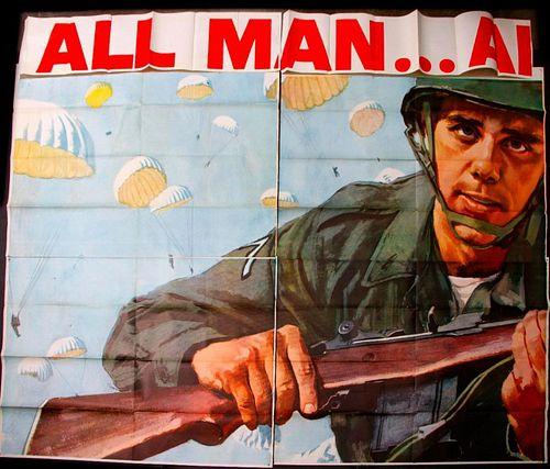 Vietnam era Roadside Billboard