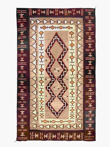 Navajo Teec Nos Pos Weaving 153 x 85 inches