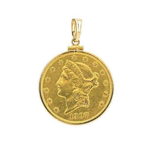 U.S. $20.00  GOLD COIN