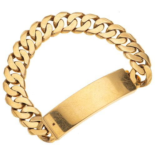 WRISTBAND. 18K YELLOW GOLD