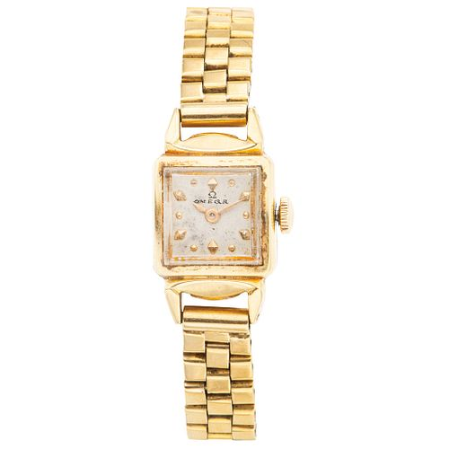 NOT WORKING. OMEGA. 18K YELLOW GOLD. REF. 3954
