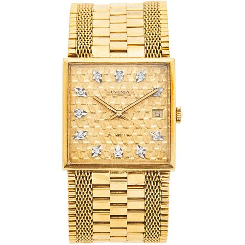 JUVENIA WITH DIAMONDS. 18K YELLOW GOLD. REF. 8902