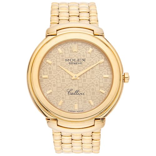 ROLEX CELLINI. 18K YELLOW GOLD. REF. 6623