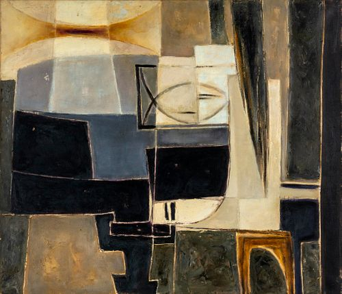 Roger Chastel (French, 1897-1981) Le Piano VI, 1960