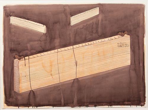 Los Carpinteros (Cuban, est. 1992) S/T (Construccion de paredes con reglas),, 2000