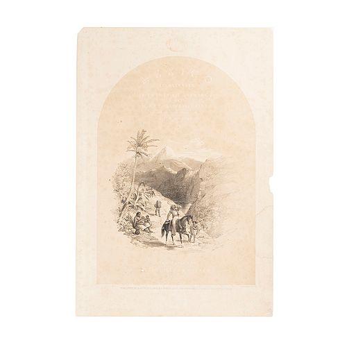 Attributed to John Phillips or Alfred Rider. Seis Bocetos Originales Acompañados con su Litografía Original y frontispicio. Pieces: 7.