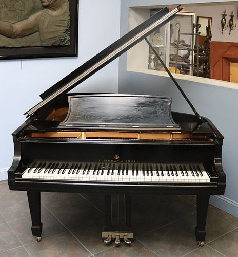Steinway And Sons Model  L  Grand Piano
