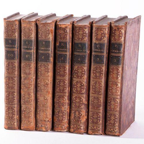 Oeuvres de Pierre Corneille. Volumes 2,3,4,5,6,8,10