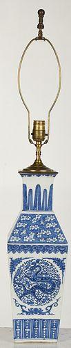 Fine Chinese Blue and White Porcelain Vase