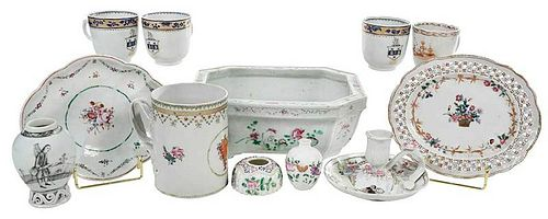 12 Pieces Chinese Export Porcelain