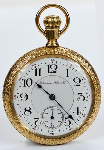 Hampden 18kt. Pocket Watch
