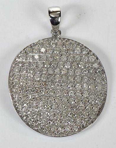 14kt. Diamond Pendant