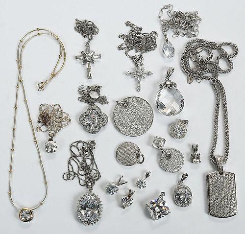 20 Sterling Silver Pendants