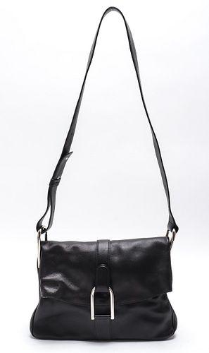 Delvaux Bruxelles Leather Handbag