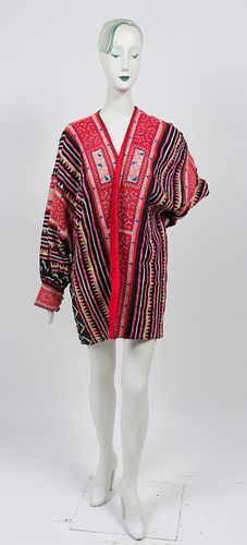 Hmong Embroidered Patchwork Coat