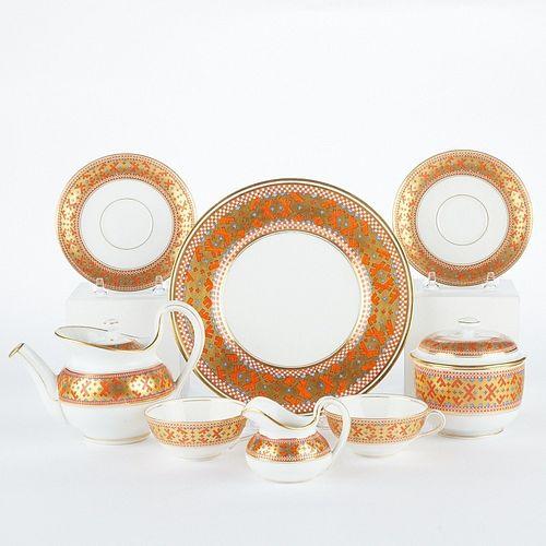 Kornilov Bros. Russian Porcelain Tea Set