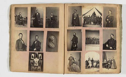 Important Diary 170 CDV images - many by M Brady