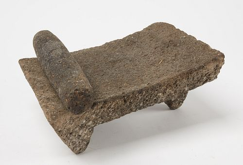 Early South American Native Stone Grinder