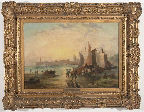 Richard P. Bonington Oil on Canvas
