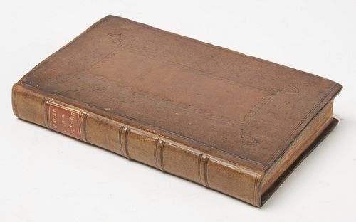 Rare Book- Duncan on Liquors 1706