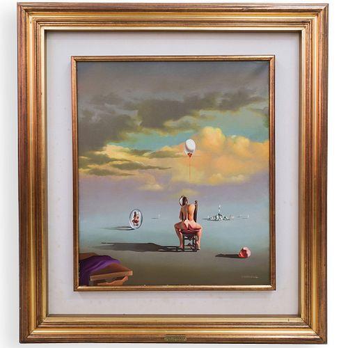 Vito Campanella (Argentine, b. 1932) Oil on Canvas