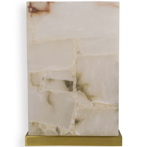 Simon Blake Alabaster Table Lamp