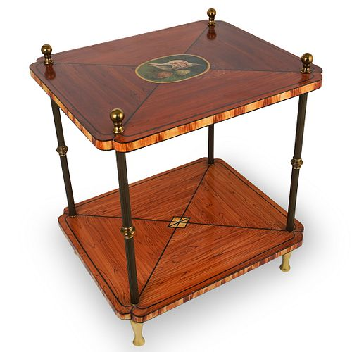 Continental Marquetry Stand