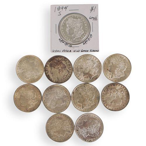 (11 Pc) Morgan Silver Dollar